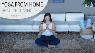 Session 4.1 - Breath Awareness Meditation - Yoga From Home