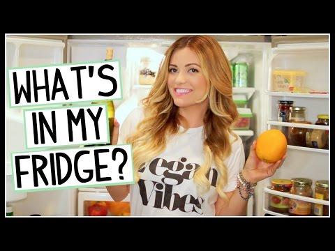 What's In My Vegan Refrigerator?? [DANI LAUREN]
