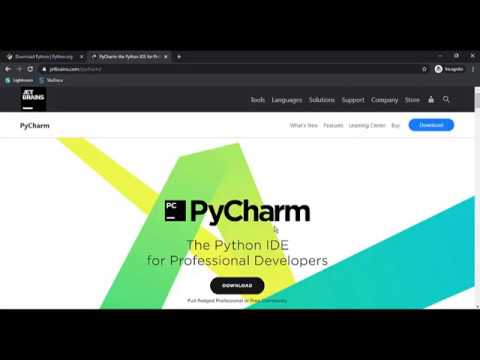 How to download and install PYTHON and PYCHARM. 2020 ...