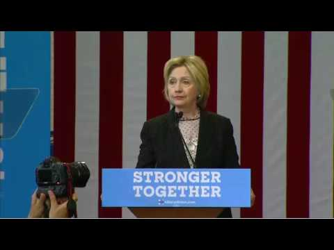 Hillary Clinton Columbus Ohio FULL Speech On Economy & Trump 6/21/16