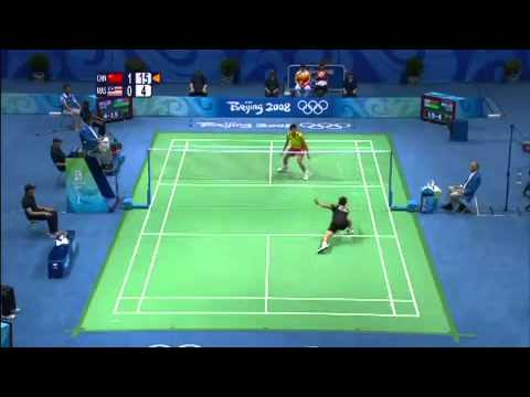 China's Lin Dan Wins Badminton Gold - Beijing 2008 Olympics