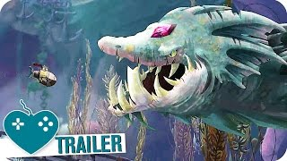 SONG OF THE DEEP Launch Trailer (2016) PS4, Xbox One, PC Game