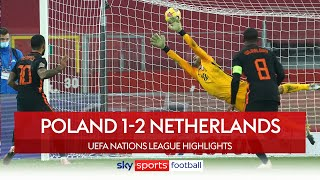 Depay & Wijnaldum complete Dutch comeback | Poland 1-2 Netherlands | UEFA Nations League highlights