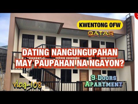 KATAS NG OFW   3M BUDGET FOR 9 DOORS APARTMENT - DATING NANGUNGUPAHAN, NGAYON MERON NG PAUPAHAN?