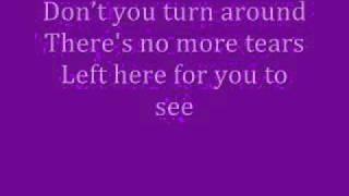 Whitney Houston-It's Not Right But It's Okay Lyrics