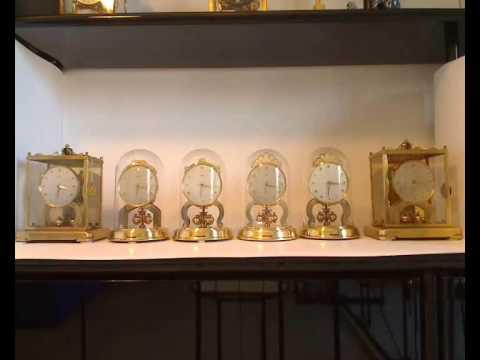 Schatz Swinging Clock Pendulo Front Rear Repeatvid