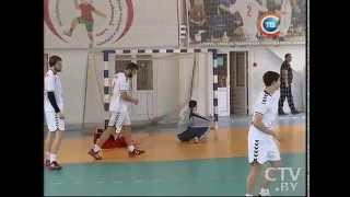 Молодежная сборная Беларуси по гандболу провела последний домашний спарринг перед ЧМ