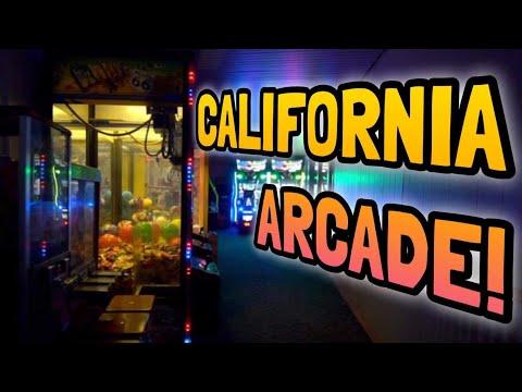 OPENING MY CALIFORNIA ARCADE!!!