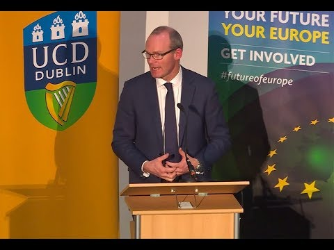 'The Europe We Want' - keynote address by Simon Coveney TD,