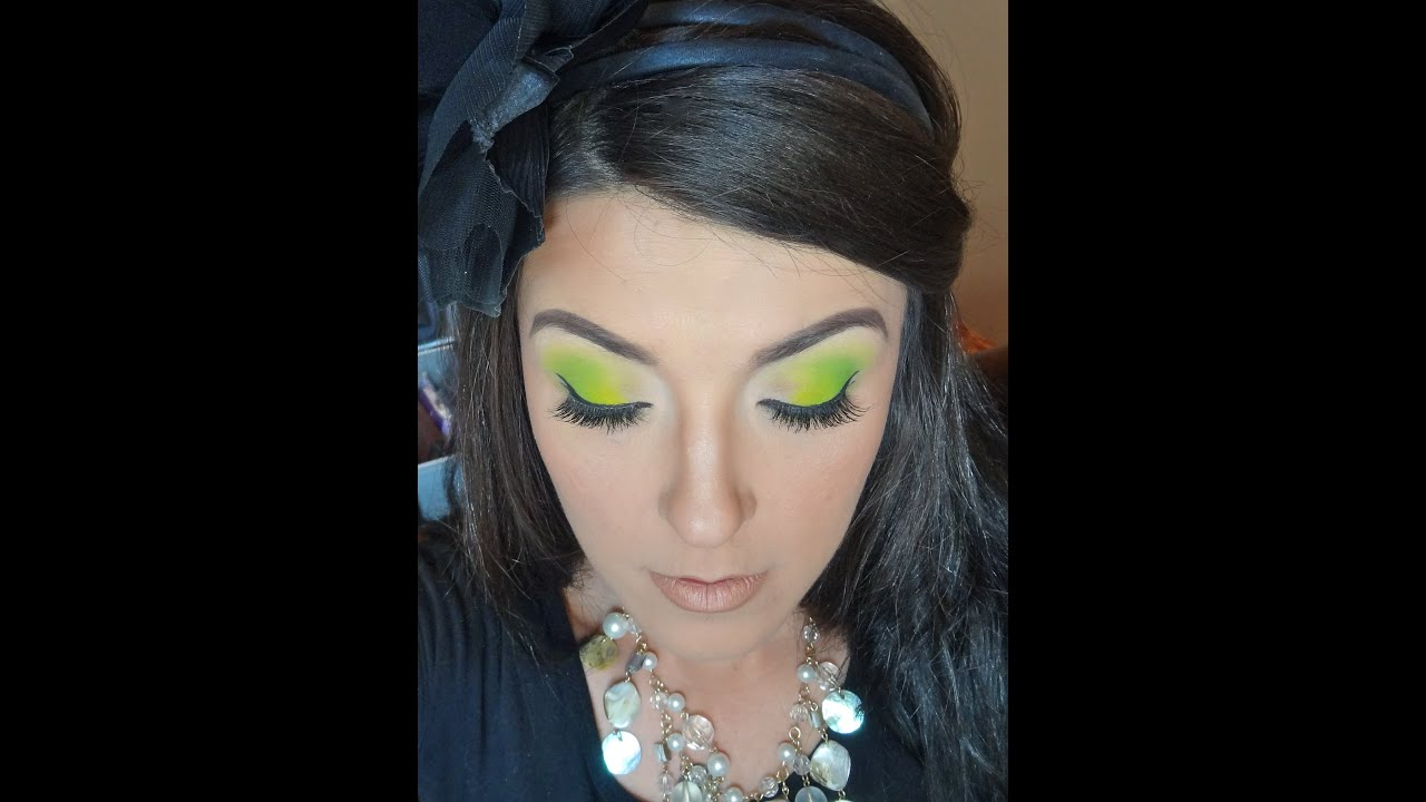 Earth Day Makeup (greens)