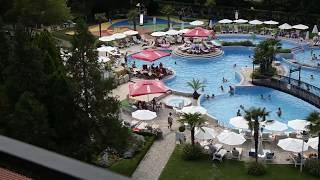 обзор комнаты в отеле в Болгарии отель хризантема казино