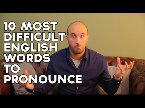 How To At Unciation Most Difficult English Words