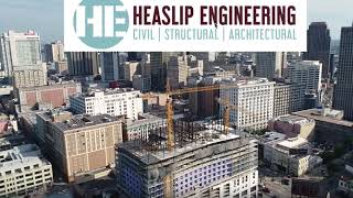 Hard Rock Hotel DRONE VIDEO BEFORE COLLAPSE HEASLIP ENGINEERING BEFORE COLLAPSE