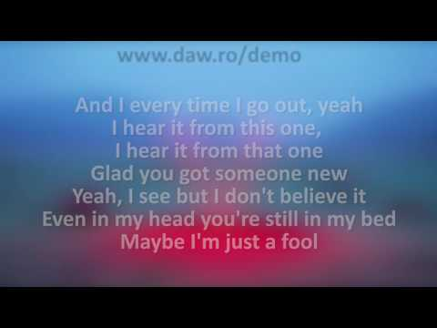 Maroon 5 - Don't Wanna Know Karaoke Acoustic Version Instrumental