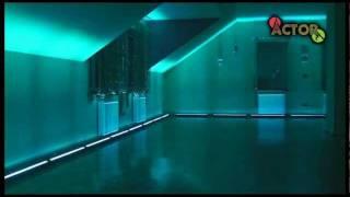 LED BAR 252 RGB DMX, Dekoracje światłem,  www.djactor.pl .wmv