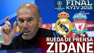 Real madrid - liverpool | Última rueda de prensa de zidane en madrid previa a la final i diario as