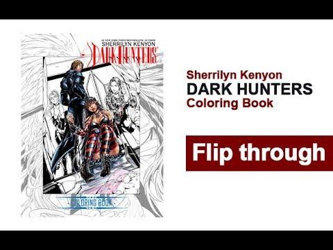 Dark Hunter Ultimate Coloring Book Flip Through Sherrilyn Kenyon
