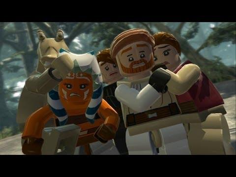 Lego star wars 3 wii game walkthrough