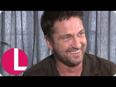 Ross King Knocks Gerard Butler's Teeth Out! | Lorraine