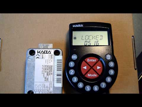 Tutorial - How to change Master code on a Kaba Axessor USB/IP Electronic Lock