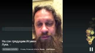 БАТЮШКА ОНЛАЙН - На сон грядущим.Игумен Лука.
