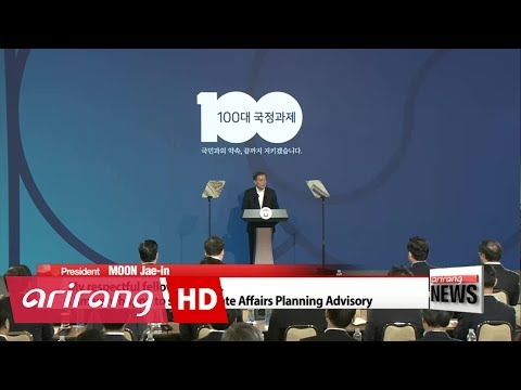 South Korea's Moon administration showcases key policy goals for next five years