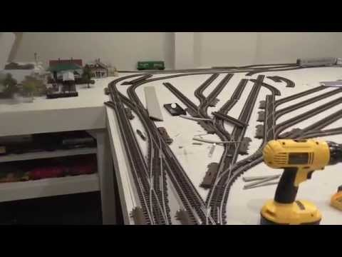 Train Layout Blog Episode #1   July 4th, 2014