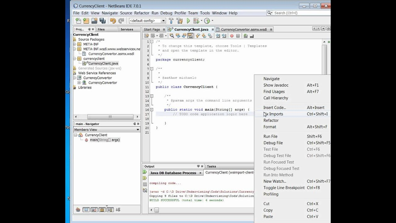 Introduction 1 Webservice Consumer