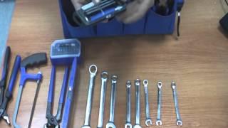 видео Универсальный набор инструментов для дома UNIPRO U-800 в сумке