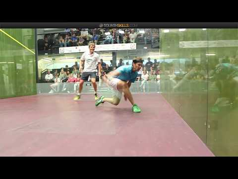 Squash tips: Jonathon Power on the theory of deception