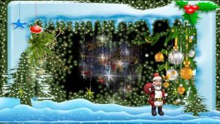 С Новым  годом!  Мультяшное поздравление Деда Мороза