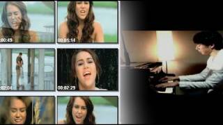 When I Look At You - Miley Cyrus (Yoonha Hwang Piano Acoustic Cover) - Music Video with lyrics