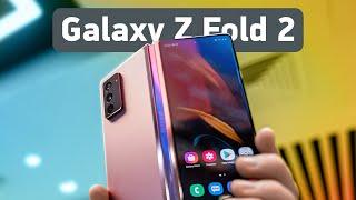 Galaxy Z Fold 2 vs Galaxy Fold — первый взгляд