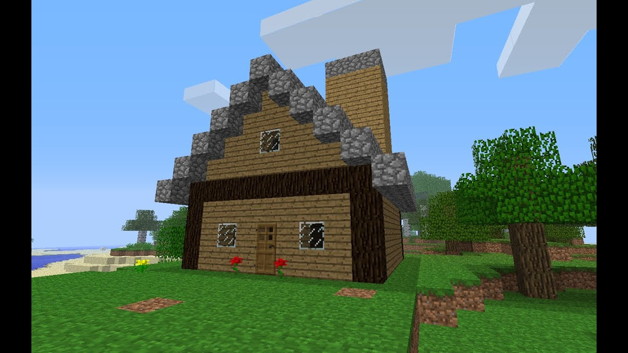 Minecraft how to build a house for beginners parody for Things to know when building a house