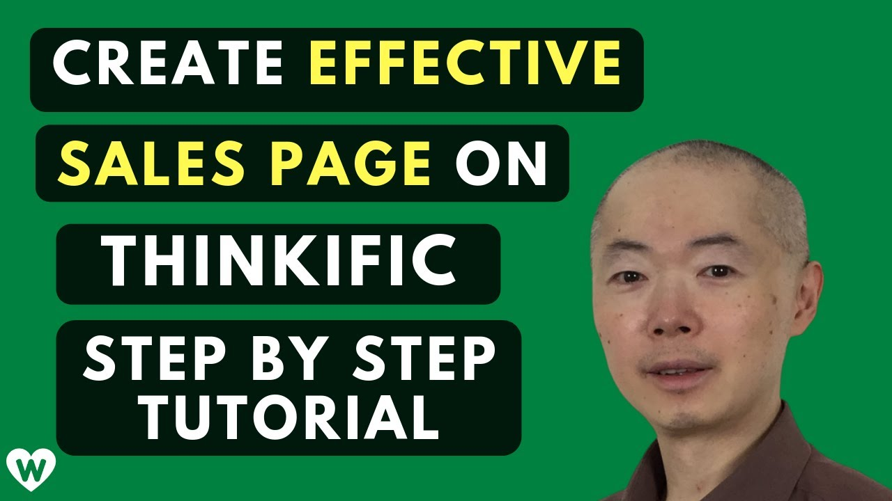 How to Create an Effective Course Sales Page on Thinkific (Step-By-Step Tutorial)