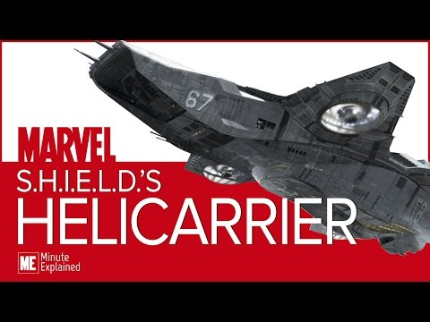 The HELICARRIER Explained! | A mobile base for SHIELD and the Avengers! (MCU)