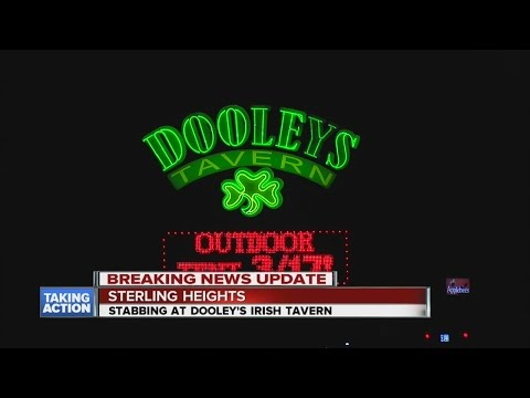 1 injured in stabbing at Dooley's in Sterling Heights