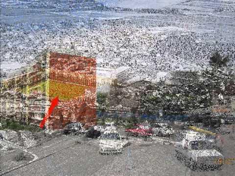 vidéo sur vue aérienne Domont val d'oise