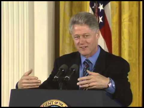 Pres. Clinton's Remarks on Electronic Commerce Initiative (1997)