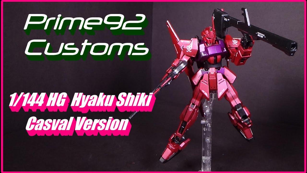 Download Prime92 Customs: 1/144 HG Hyaku Shiki Casval Version