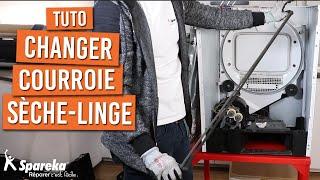 Comment changer la courroie d'un sèche linge