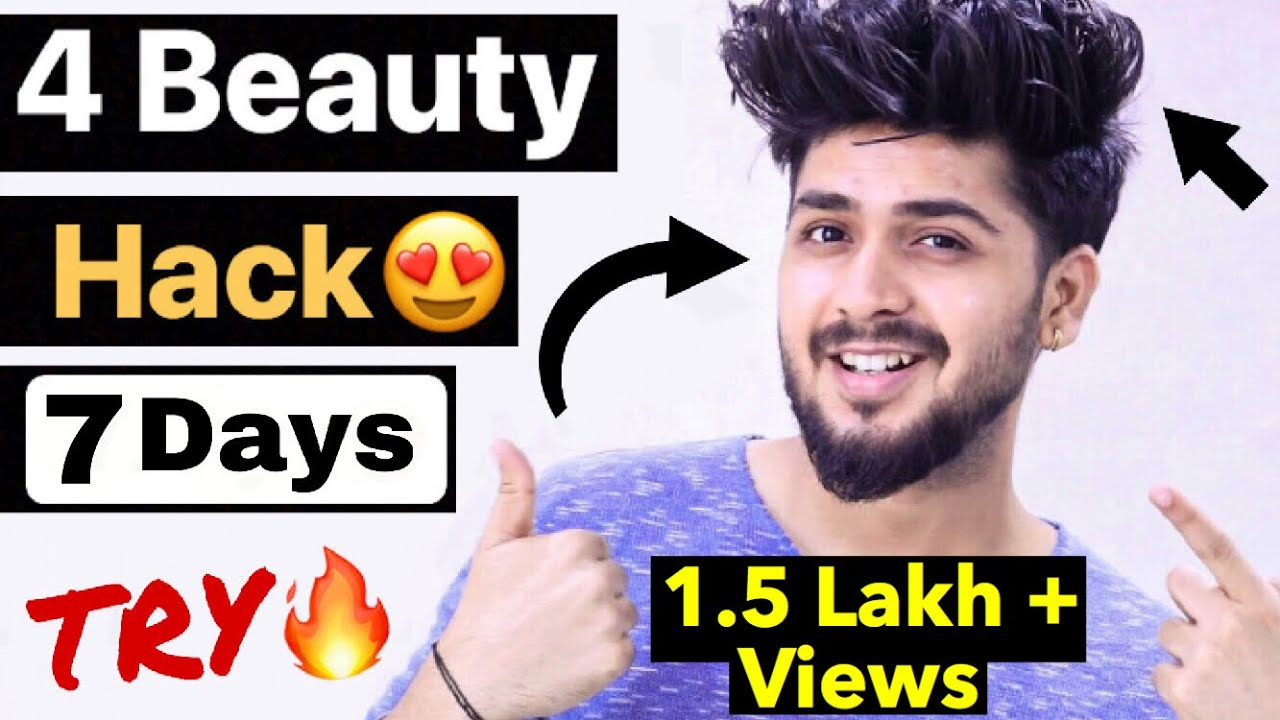 Top Beauty Tips For Men and Boys  Hindi  Mens Grooming Tips