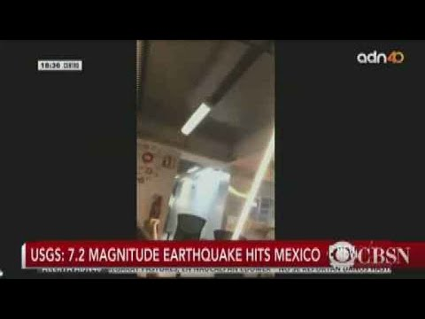 Strong earthquake rocks Mexico