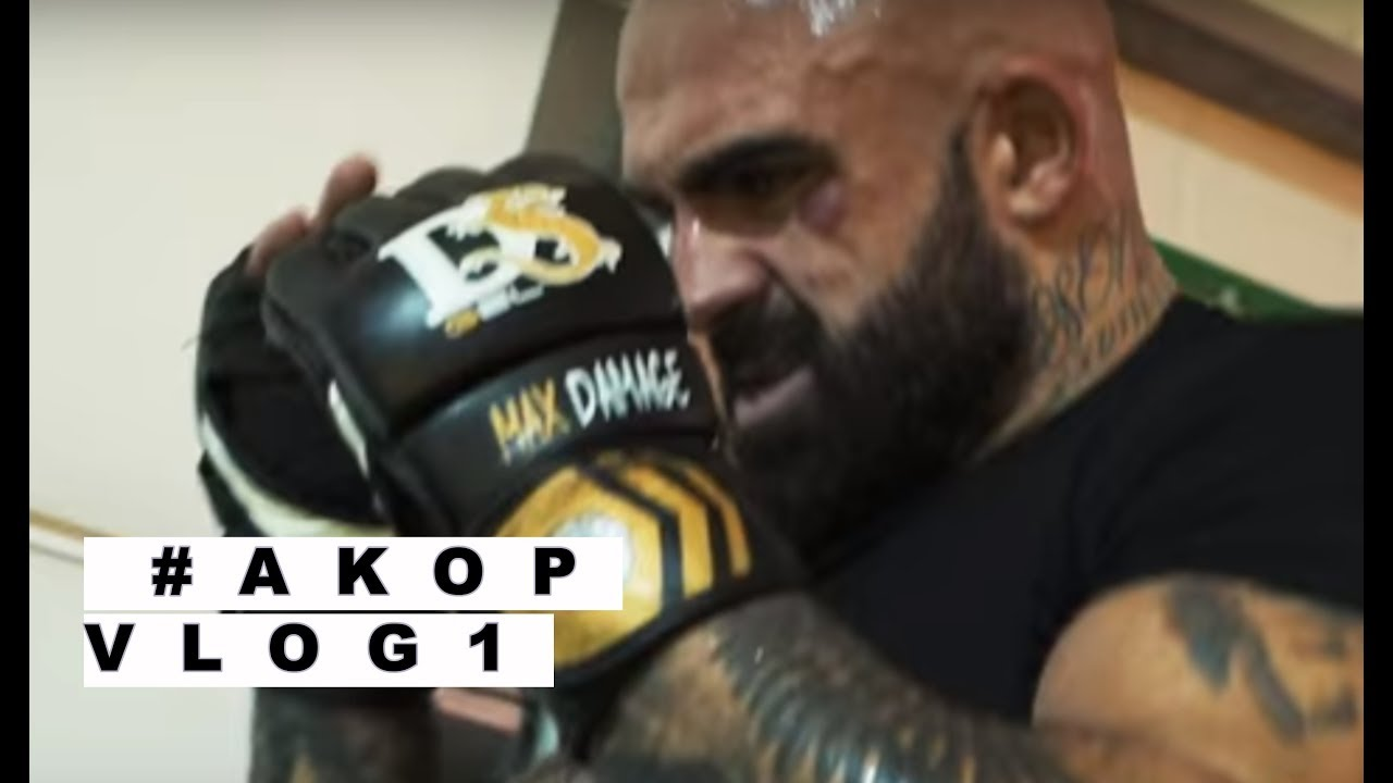 AkopVLOG.1 Trening MMA | Akop Szostak