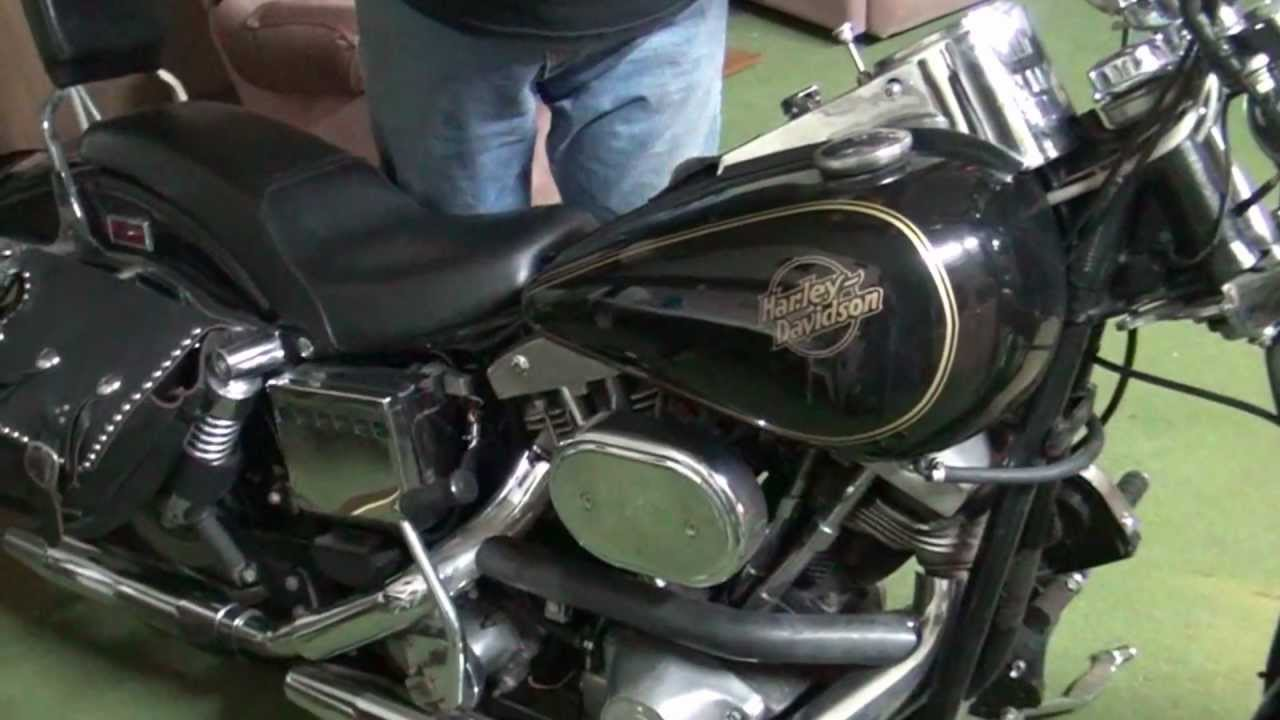 12k In Miles >> Hunting Harley's, 1984 FXWG - YouTube
