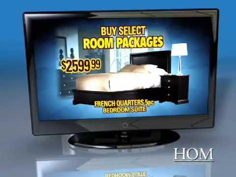 HOM Furniture - Free TV