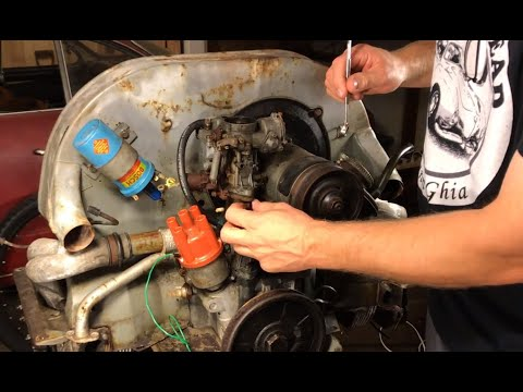 Volkswagen restoration - 1600 engine rebuild - VW Engine disassembly - Part (2)