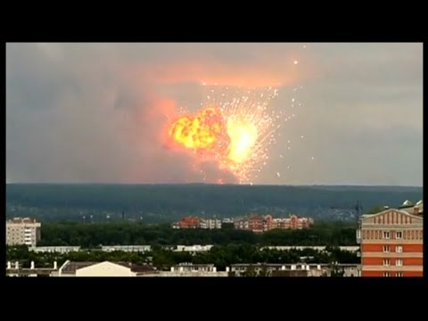 Insane Explosion In Russian!