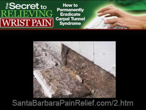 Dr. Zemella, Santa Barbara chiropractor explains secret to relieving wrist pain
