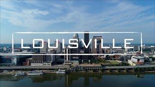 Louisville, Kentucky  4K Drone Footage